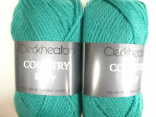 CLECKHEATON COUNTRY 8 PLY 10 BALLS JADE PURE WOOL,NO 2335,COL DISCONTINUED