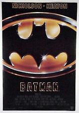 "Original 1989 Batman 1-Sheet Movie Poster-27""x40"" Keaton/Nicholson- Rolled"