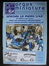 ARGUS DE LA MINIATURE 179 SPECIAL LE MANS 1923 1996