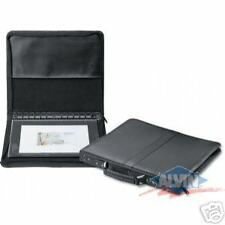 "8 1/2"" x 11"" PRESTIGE™ Premier™ Series Leather Presentation Case, Black"