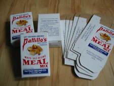 Lot of 10 Old Vintage -  Pattillo's CORN MEAL - Sample BOXES - Alabama