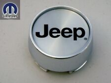 JEEP LIBERTY 2002 - 2007 WHEEL CENTER CAP HUB CHROME INSIGNIA BLACK 5 SPOKE NEW