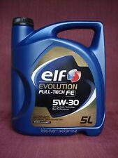 Elf evolution Full-Tech FE 5W-30 Motoröl Nachfolger für solaris FE / DPF 5 ltr.