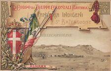 * COLONIA ERITREA - R.Corpo Truppe Coloniali Fanteria Indigeni 3°Batt. Asmara