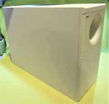 BOSE Accoustimass 7 Home Theater Speaker  SubWoofer - White - See Pictures! USED