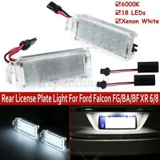 Pair LED SMD Rear License Plate Light Lamp For Ford Falcon FG/BA/BF XR 6/8 New