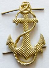 USSR Soviet Russian Navy Uniform Cap Hat Beret Badge Naval Anchor 3.5 x 2.5 cm