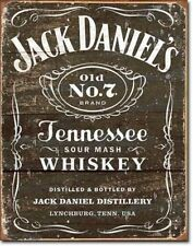 New Jack Daniels Metal Vintage Style Tin Sign Garage Man Cave Whiskey Whisky