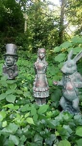 Alice (from Alice's Adventures in Wonderland) Garden Statue Ornament Figurine