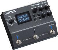 Used Boss RV-500 Reverb Guitar Effects Pedal RV500