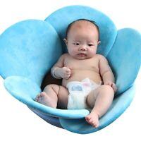Infant Baby Bath Tub Safety Foldable Soft Flower Petal Bathtub Pad Support Mat