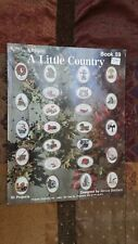 50 A LITTLE COUNTRY MINIATURE KAPPIE LTD CROSS STITCH PATTERN FREE SHIPPING