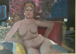 John Berkey Original Painting Nude