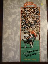 Calgary Stampeders 1986 Fact Book CFL Canadian Football League