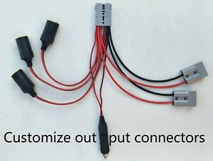Cable Anderson fit to Anderson/cigarette lighter socket/plug. Customized config.