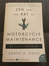 Zen And The Art Of Motorcycle Maintenance Robert Pirsig TPB