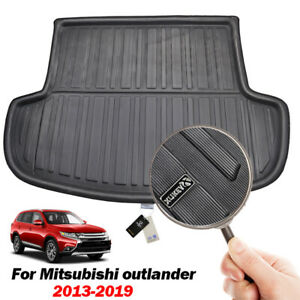 For Mitsubishi Outlander 2013-2020 Boot Liner Cargo Tray Trunk Floor Mat Carpet