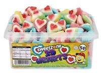 3D Hearts Sweets Candy Favours Kids Celebration Party HALAL HMC 960g SWEETZONE