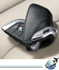 Genuine BMW X5 F15 Leather Key Holder Case 82292344033 Germany