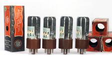 4x 6F6GT/6F6G FIVRE NOS MATCHED Tube Lampe TSF Valvola 진공관 真空管 Valvula Röhre