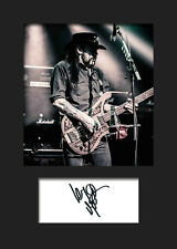 MOTORHEAD #2 A5 Signed Mounted Photo Print (Reprint) - FREE DELIVERY