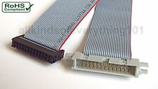 ** 26 WAY RIBBON CABLE WITH IDC FEMALE/MALE CONNECTORS - 20/30/40/50cm **