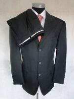Stretch Einreiher Herren Anzug Sakko Hose Polyester Dunkelblau Gr. 25 NEU!