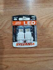 NEW Sylvania ZEVO LED 3157 Pair Set LED Lamps Bulbs 3057/4057
