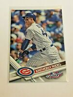 2017 Topps Opening Day Baseball Base Card #96 - Anthony Rizzo - Chicago Cubs
