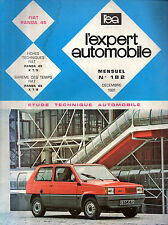 RTA revue technique automobile N° 182 FIAT PANDA 45
