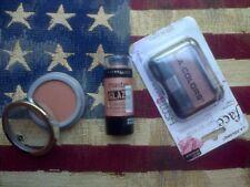 3pc blush set: LA Colours Peach Rose, Jordana Toast, Master Glaze Nude Rebellion