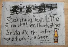 "TOOHEY'S BEER ""Scorching Heat"" 1996 Drink trade advert - wall art 30 x 44 cm"
