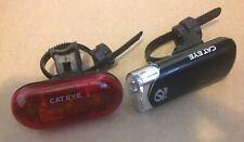 Cateye opti cube  bike Head Light And Tail Light