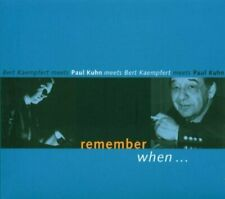 Paul Kuhn Remember when.. (2003, meets Bert Kaempfert)  [CD]