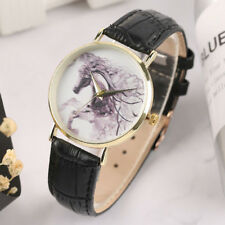 HORSE & WESTERN JEWELLERY JEWELRY WATCHES  LADIES HORSE HEAD WATCH BLACK BAND