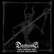 Darkness - Anti Human Life CD 2013 black metal Italy Satanic Records
