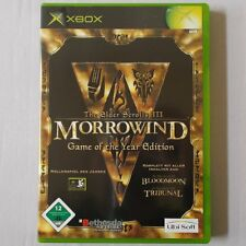 XBOX - Microsoft ► The Elder Scrolls III - Morrowind  Game Of The Year Edition ◄