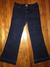 J Jill Women's Jeans Dark Wash Short Petite Size 6 Inseam 29'