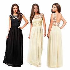 Full Length Chiffon Petite Sleeveless Dresses for Women