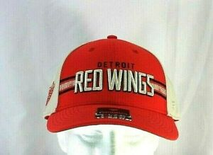 Detroit Red Wings NHL Red Baseball Cap Snapback