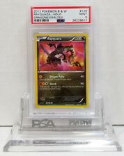 Pokemon DRAGONS EXALTED RAYQUAZA 128/124 SECRET RARE HOLO PSA 9 Mint #28229517