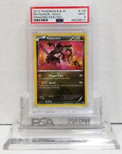 Pokemon DRAGONS EXALTED RAYQUAZA 128/124 SECRET RARE HOLO PSA 9 Mint #28229517