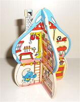 PUFFI SMURFS 80s Invernizzi casetta con adesive gadget raro