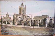 Irish Postcard Christ Church Cathedral Dublin Ireland F von Bardeleben 138/2 udb