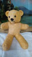 Vintage Chiltern Teddy Bear, All In One Bear, Glass Eyes