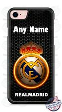Real Madrid Soccer with Name Phone Case Cover For iPhone Samsung LG Google
