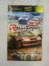 Replacement manual for RalliSport Challenge (Xbox)