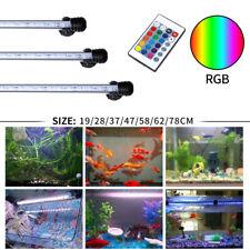 Multicolorido Rgb Impermeável Aquário Submersível Luz Aquário lâmpada Anfíbio