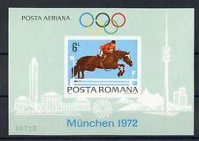 La Romania bl.94 ** OLIMPIADI 1972 ungezähnt me 90,- + +!!! (119098)
