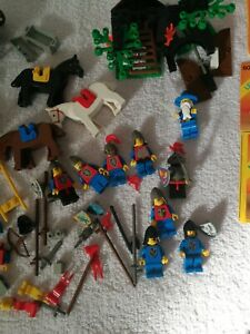 LEGO Lotto Castle Vintage 6020 Minifigures